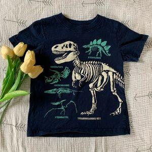 Carters dinosaur t-shirt. Glow in the dark!
